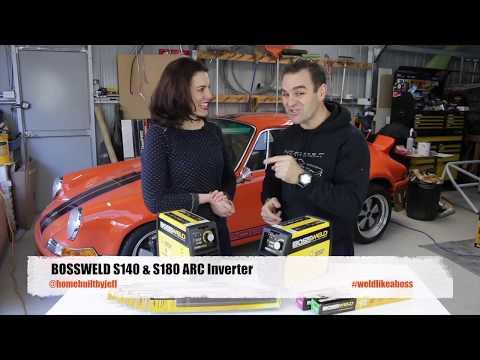 Bossweld S140 Amp & S180 Amp ARC WELDERS - YouTube