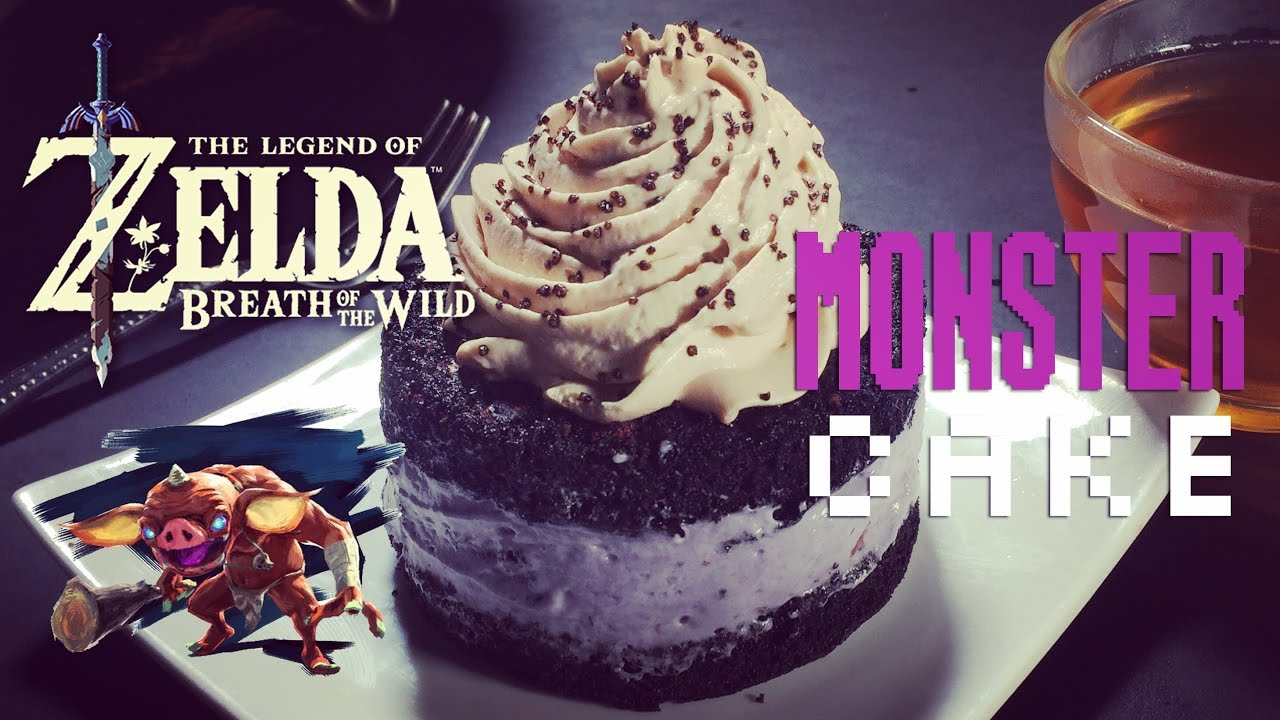 How to Make Monster Cake from Zelda Breath of the Wild YouTube