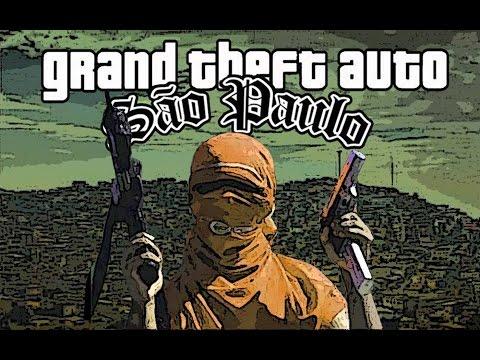 GTA São Paulo Demo O Gta San andreas Mais Modificado Do Brasil FULL HD 1080p