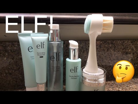 I used ELF skincare for 30 days. Here's what I think!
