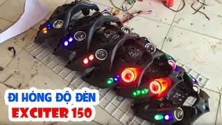 Đi hóng các thanh niên độ đèn Exciter 150 😂