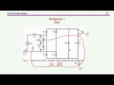 Bridgeless Active Power Factor Correction (APFC) systems