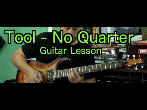 Tool No Quarter Guitar Lesson