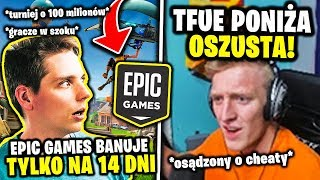 FORTNITE BANS CHEATERÓW FOR 14 DAYS... 😨 TFEU DESTROYS AND HUMILIATES THE SCAM! | KONOP NEWS