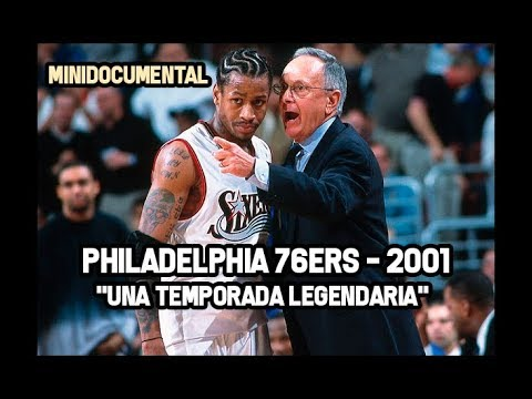 "Philadelphia 76ers (2001) - ""Una Temporada Legendaria"" 