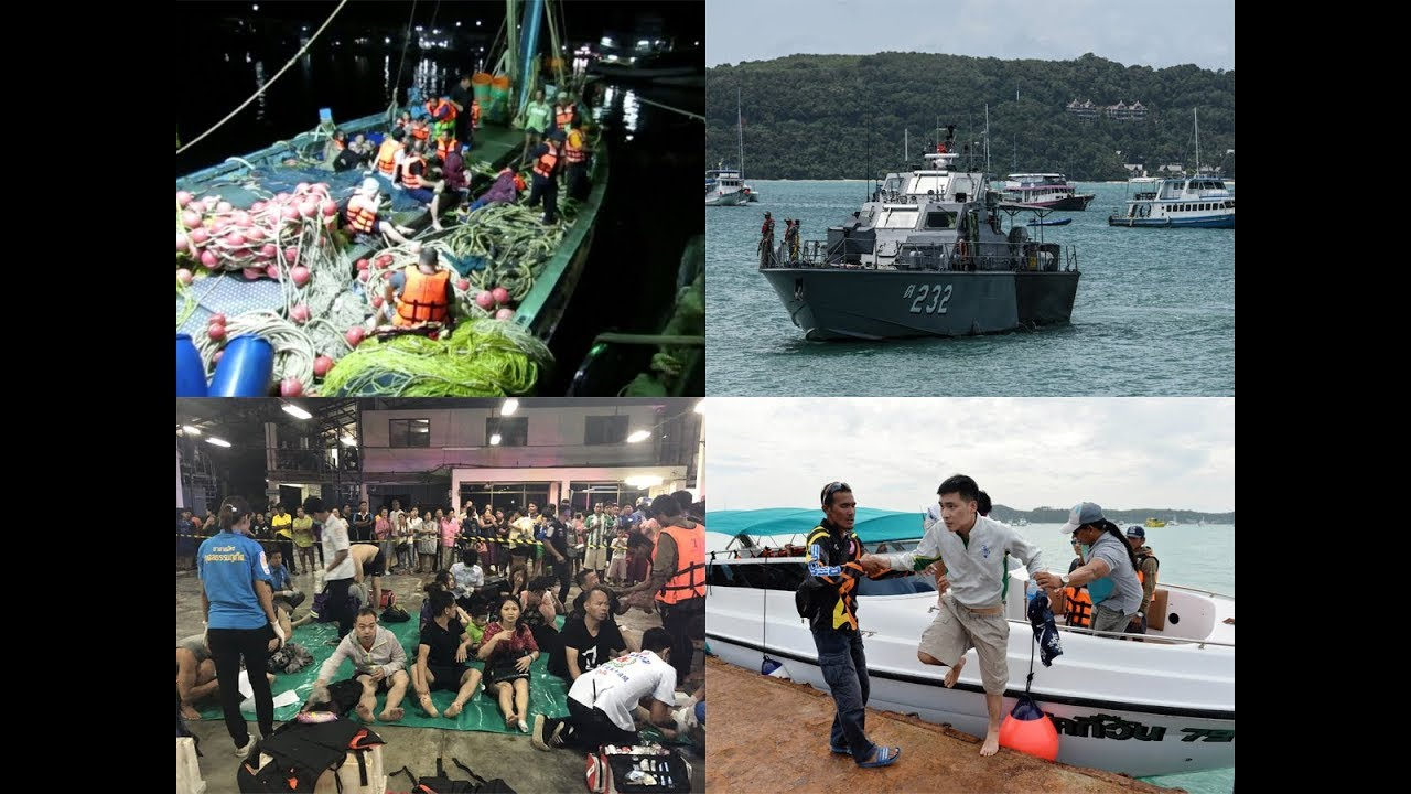 Thailand: One dead, 49 tourists missing after boat capsizes in Phuket