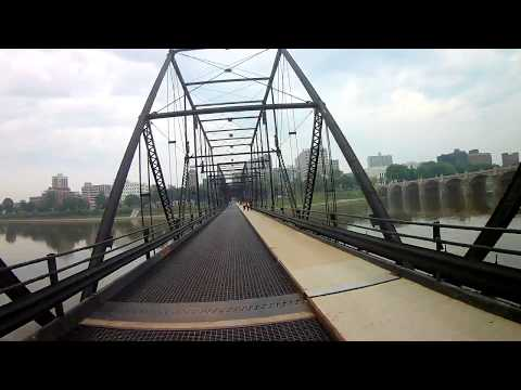 Cycling the Capital Area Greenbelt - Tour de Belt - Harrisburg, PA - Part 1