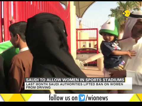 Saudi to allow women in sports stadiums