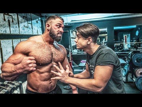 Bodybuilder Vs Talha!! Ich Mache Ihn Richtig Breit!!