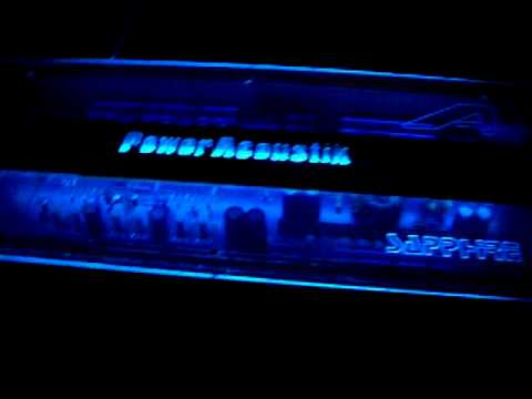 Power acoustik 2400 watt amp