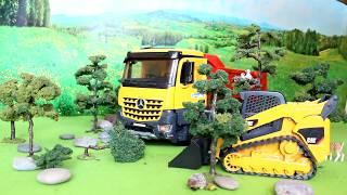 Bruder 03623 Mercedes Arocs wywrotka  - wersja PREMIUM