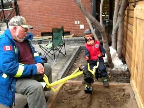 Sandbox Backhoe Digger For Grandsons To Grandpas Joan26