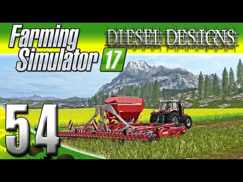 Farming Simulator 2017 Gameplay :EP54: Canola Cash & New Tractor & Sower! (PC HD Goldcrest Valley)