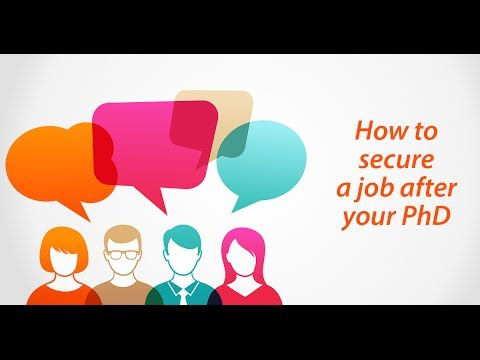 'How to secure a job after your PhD' Google+ Hangout on Air #jobsQ