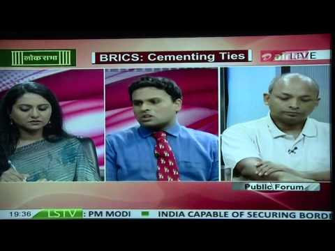 Dr. Sreeram Chaulia on BRICS summit in Ufa