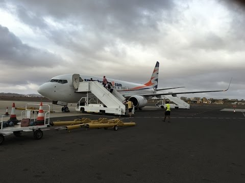 Travel Service B738: A short flight from Boa Vista to Sal (Cape Verde)