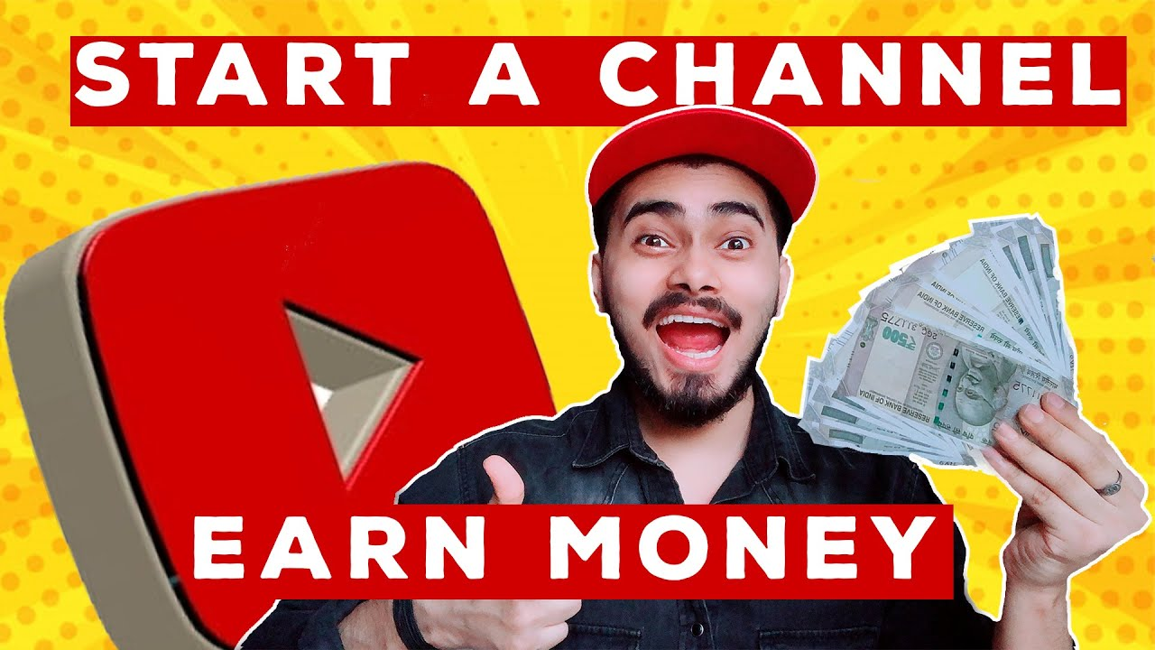 How To Make Youtube Channel in 10 Minutes & Make Money Online 🤑🔥
