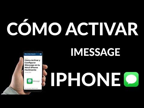 Cómo Activar y Configurar iMessage en tu iPhone