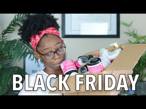 $800 WORTH OF HAIR PRODUCTS | Black Friday Natural Hair Haul