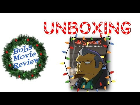 The Simpsons Season 18 DVD Unboxing