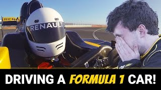 Driving An F1 Car: Best Day Of My Life