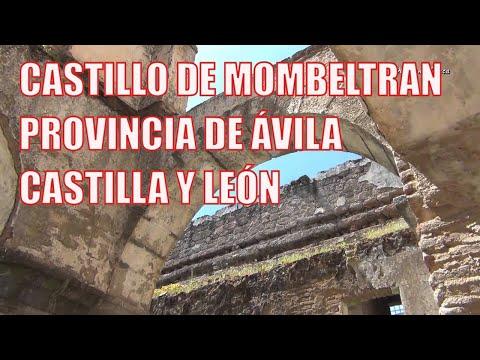 Castillo de Mombeltran, provincia de Avila, Castilla y Leon