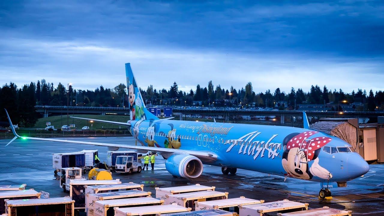 Trip Report Alaska Airlines 737 Economy Class
