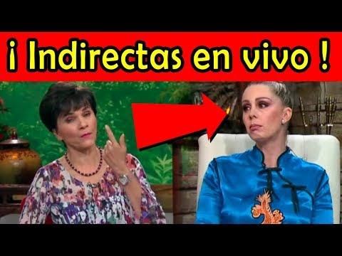 Paty Chapoy LE MANDA INDIRECTAS a Atala en PROGRAMA EN VIVO (video)