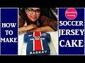 How to make football jersey cake design:soccer Birthday Cake ideas pic tips classes bakery maker