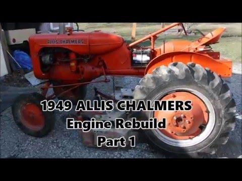 allis chalmers c engine rebuild part1 youtube. Black Bedroom Furniture Sets. Home Design Ideas