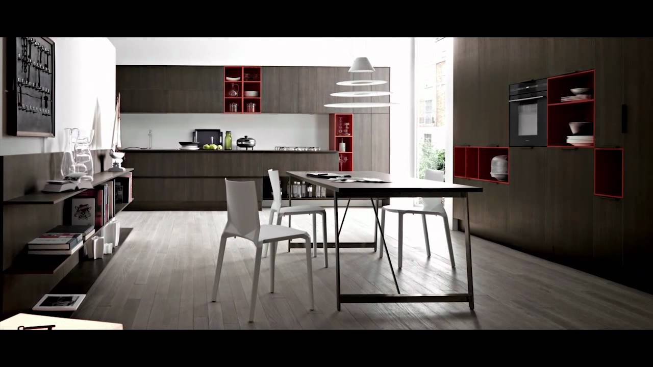 Kitchens collection di cesar cucine by bergamin youtube for Arredamenti bergamin