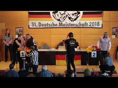 Deutsche Meisterschaft 2018 // Newcomerklasse -80kg / +80kg - Links Teil 1