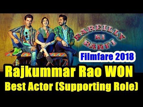Rajkummar Rao Won Best Actor In Supporting Role For Bareilly Ki Barfi