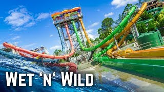 Download lagu Water Slides at Wet n Wild Gold Coast MP3