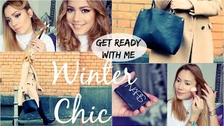 Make-up/Haare/Outfit & Verlosung - Winter Chic - GRWM | funnypilgrim