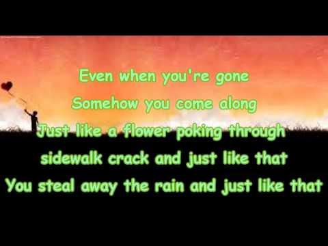 Smile - Uncle Kracker - Lyrics