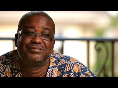 Ghanaian entrepreneur: growth hindered by foreign aid [PovertyCure DVD Series]