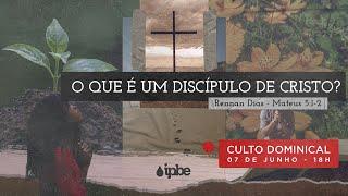 O que é um discípulo de Cristo? - Rev Rennan Dias