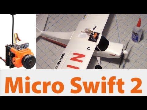 RunCam Micro Swift 2 FPV Cam  - New Focus Flight Test With RunCam TX25 VTX