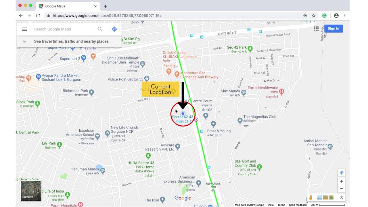 How To Find Laude & Longitude Coordinates Of Your Current Location Current Location Coordinates Google Maps on google maps elevation, google maps symbol, google maps altitude,