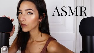 ASMR Sensitive Mouth Sounds 2 (+ Soft crinkles, mic scratching, finger flutters..)