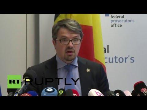 La conférence de presse du Parquet belge sur la détention du suspect dans les attentats (23.03.16)