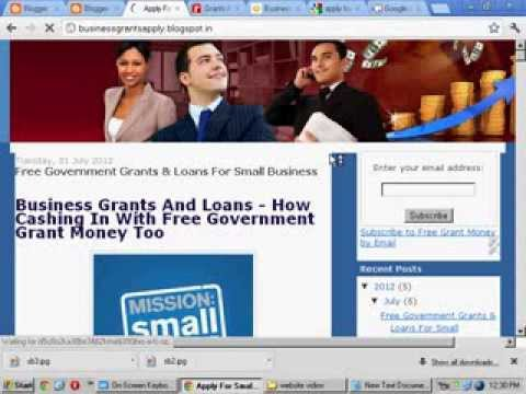 free-government-grants-&-loans-for-small-business.