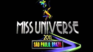 Miss Universe 2011 Swimsuit Competition Theme - Locomotion Batucada - Claudia Leitte