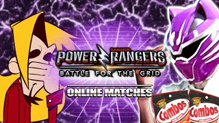...then I DROPPED THE COMBO : RJ Power Rangers Battle for the Grid Online Matches