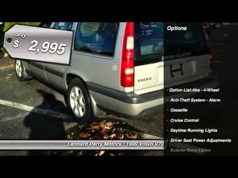 1999 volvo v70 xc awd 4dr turbo wagon point pleasant beach for Leonard perry motors nj