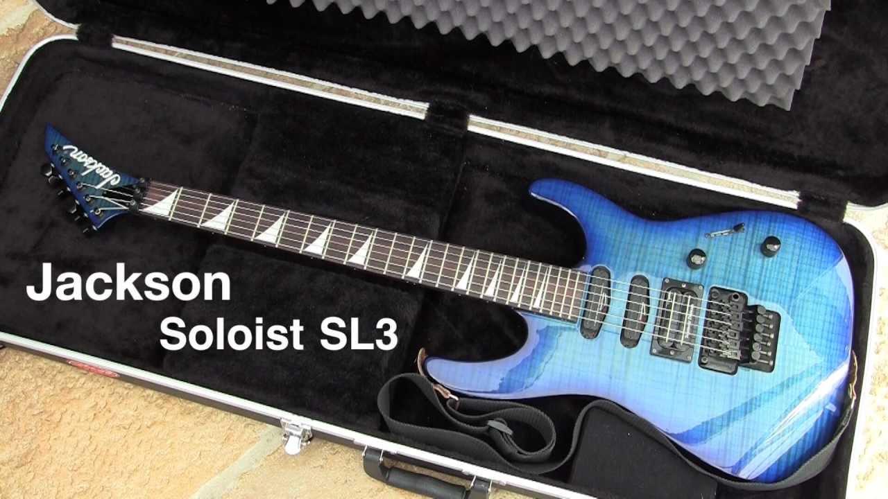 Jackson Soloist Sl3