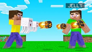 Launching FIREBALLS From My HANDS! (Minecraft)