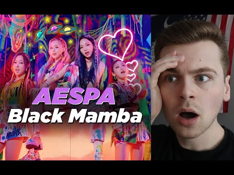 THEY'RE HERE (aespa 에스파 'Black Mamba' MV Reaction)