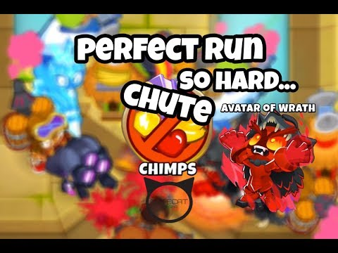 Bloons TD6 Chute CHIMPS Mode Perfect Run